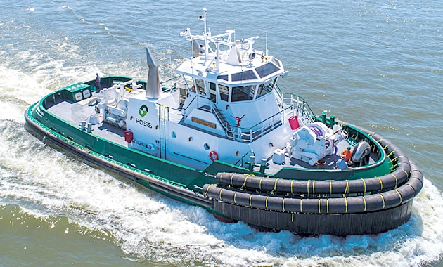 Integrated slipping clutch gives tugs more fire power